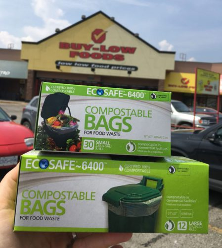 Where can I buy the EcoSafe bags? -